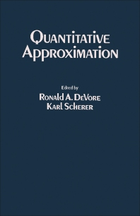 Quantitative Approximation - 1st Edition - ISBN: 9780122136504, 9781483265124