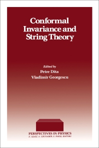 Conformal Invariance and String Theory - 1st Edition - ISBN: 9780122181009, 9780323145572
