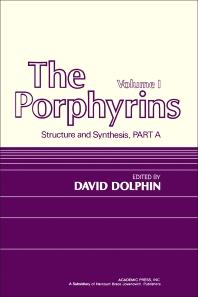 Cover image for The Porphyrins V1