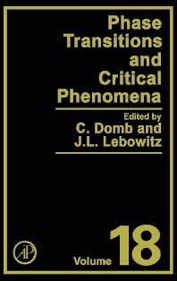 Phase Transitions and Critical Phenomena, 1st Edition,Cyril Domb,Joel Lebowitz,ISBN9780122203183