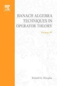 Cover image for Banach Algebra Techniques in Operator Theory