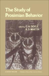 The Study of Prosimian Behavior - 1st Edition - ISBN: 9780122221507, 9780323143066