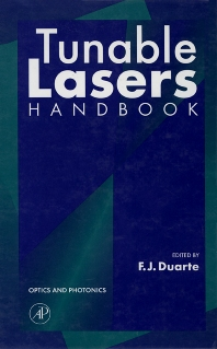 Cover image for Tunable Lasers Handbook