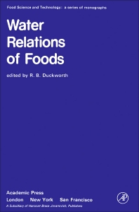 Water Relations of Foods - 1st Edition - ISBN: 9780122231506, 9780323142861