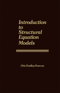 Introduction to Structural Equation Models - 1st Edition - ISBN: 9780122241505, 9781483295329