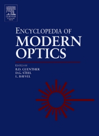 Encyclopedia of Modern Optics, Five-Volume Set, 1st Edition,Duncan Steel,ISBN9780122276002