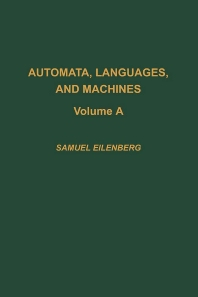 Cover image for Automata, Languages, and Machines