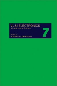 VLSI Electronics Microstructure Science - 1st Edition - ISBN: 9780122341076, 9781483217741