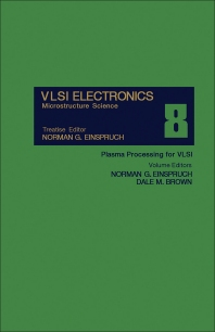 Plasma Processing for VLSI - 1st Edition - ISBN: 9780122341083, 9781483217758