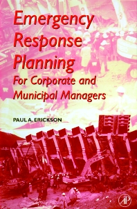 Emergency Response Planning - 1st Edition - ISBN: 9780122415401, 9780080505619