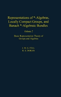 Cover image for Representations of *-Algebras, Locally Compact Groups, and Banach *-Algebraic Bundles