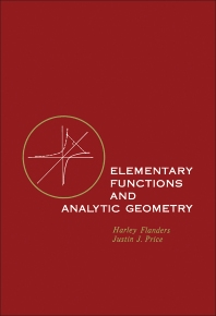 Elementary Functions and Analytic Geometry - 1st Edition - ISBN: 9780122596551, 9781483271965
