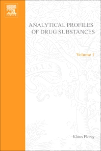 Profiles of Drug Substances, Excipients and Related Methodology - 1st Edition - ISBN: 9780122608018, 9780080860961