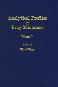 Profiles of Drug Substances, Excipients and Related Methodology - 1st Edition - ISBN: 9780122608070, 9780080861029