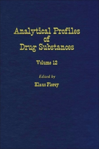 Profiles of Drug Substances, Excipients and Related Methodology - 1st Edition - ISBN: 9780122608124, 9780080861074