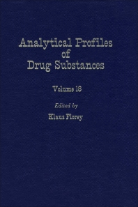 Profiles of Drug Substances, Excipients and Related Methodology - 1st Edition - ISBN: 9780122608186, 9780080861135