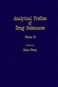 Profiles of Drug Substances, Excipients and Related Methodology - 1st Edition - ISBN: 9780122608193, 9780080861142
