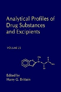 Analytical Profiles of Drug Substances and Excipients, 1st Edition,Harry Brittain,ISBN9780122608254