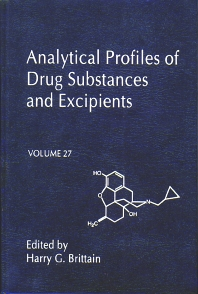Analytical Profiles of Drug Substances and Excipients, 1st Edition,Harry Brittain,ISBN9780122608278
