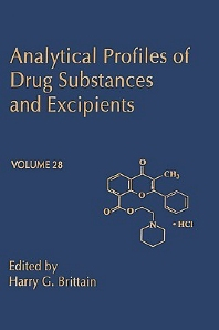 Analytical Profiles of Drug Substances and Excipients - 1st Edition - ISBN: 9780122608292, 9780080861241