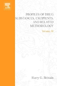 Analytical Profiles of Drug Substances, Excipients, and Related Methodology