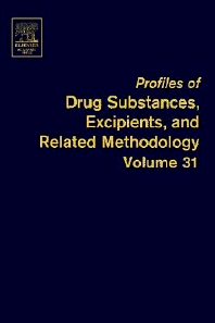 Profiles of Drug Substances, Excipients and Related Methodology - 1st Edition - ISBN: 9780122608315, 9780080918235