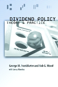 Dividend Policy, 1st Edition,George Frankfurter,Bob Wood,James Wansley,ISBN9780122660511