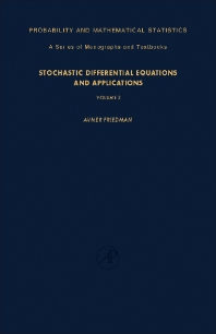 Stochastic Differential Equations and Applications - 1st Edition - ISBN: 9780122682025, 9781483217888