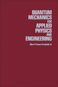 Quantum Mechanics For Applied Physics And Engineering - 1st Edition