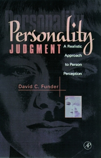 Personality Judgment - 1st Edition - ISBN: 9780122699306, 9780080492063
