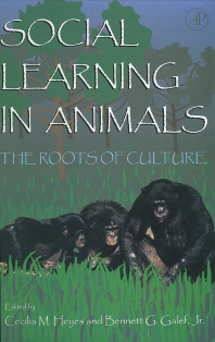 Social Learning In Animals, 1st Edition,Cecilia Heyes,Bennett Galef, Jr.,ISBN9780122739651