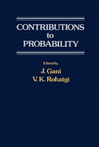 Contributions to Probability - 1st Edition - ISBN: 9780122744600, 9781483262567