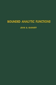 Cover image for Bounded Analytic Functions
