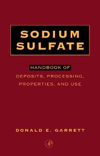 Cover image for Sodium Sulfate