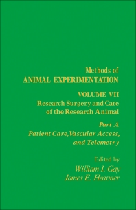 Research Surgery and Care of the Research Animal - 1st Edition - ISBN: 9780122780073, 9781483259536