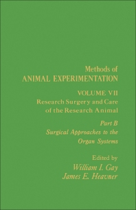 Research Surgery and Care of the Research Animal - 1st Edition - ISBN: 9780122780080, 9781483259543