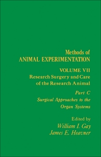 Research Surgery and Care of the Research Animal - 1st Edition - ISBN: 9780122780097, 9781483259727