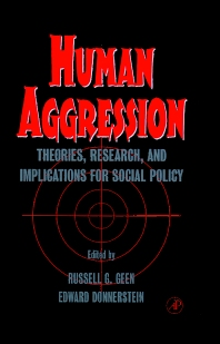 Human Aggression - 1st Edition - ISBN: 9780122788055, 9780080534183