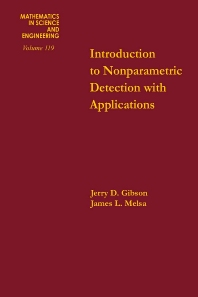 Cover image for Introduction to Nonparametric Detection with Applications