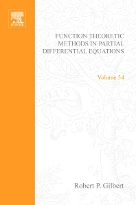 Cover image for Function Theoretic Methods in Partial Differential Equations