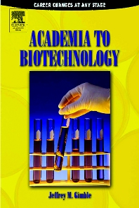Cover image for Academia to Biotechnology