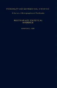 Multivariate Statistical Inference - 1st Edition - ISBN: 9780122856501, 9781483263335