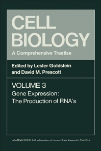 Cell Biology A Comprehensive Treatise V3 - 1st Edition - ISBN: 9780122895036, 9780323143257