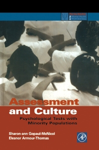 Assessment and Culture - 1st Edition - ISBN: 9780122904516, 9780080499505
