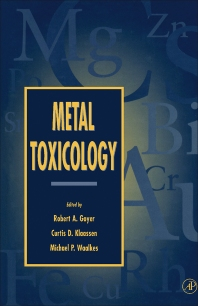 Cover image for Metal Toxicology