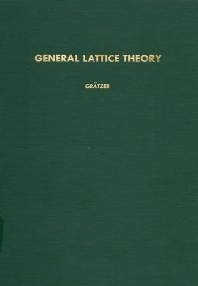 Cover image for General lattice theory