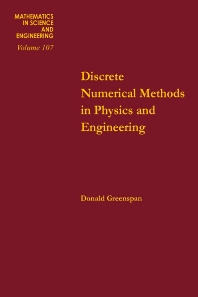 Cover image for Discrete Numerical Methods in Physics and Engineering