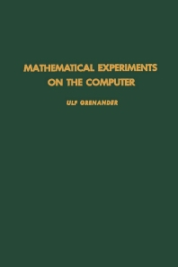 Cover image for Mathematical Experiments on the Computer