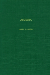 Cover image for Algebra