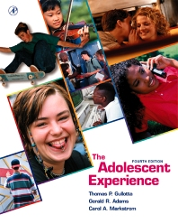 The Adolescent Experience - 4th Edition - ISBN: 9780123055606, 9780080542362